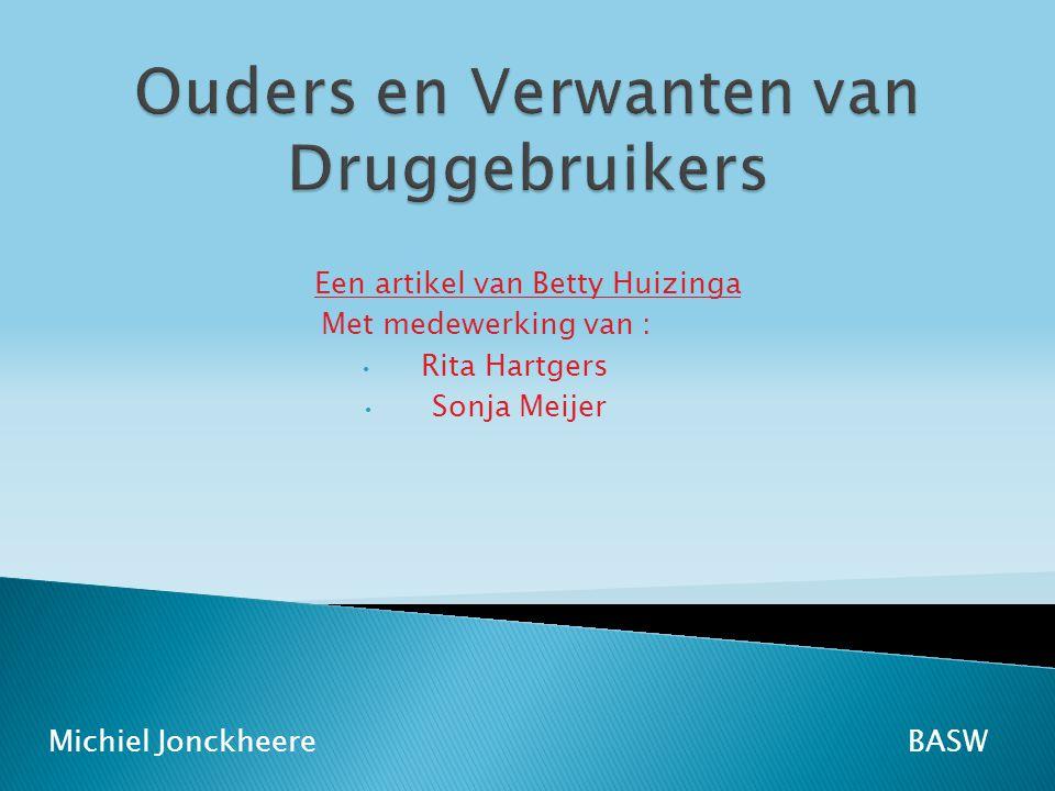Ouders en Verwanten van Druggebruikers