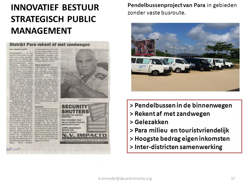 STRATEGISCH PUBLIC MANAGEMENT
