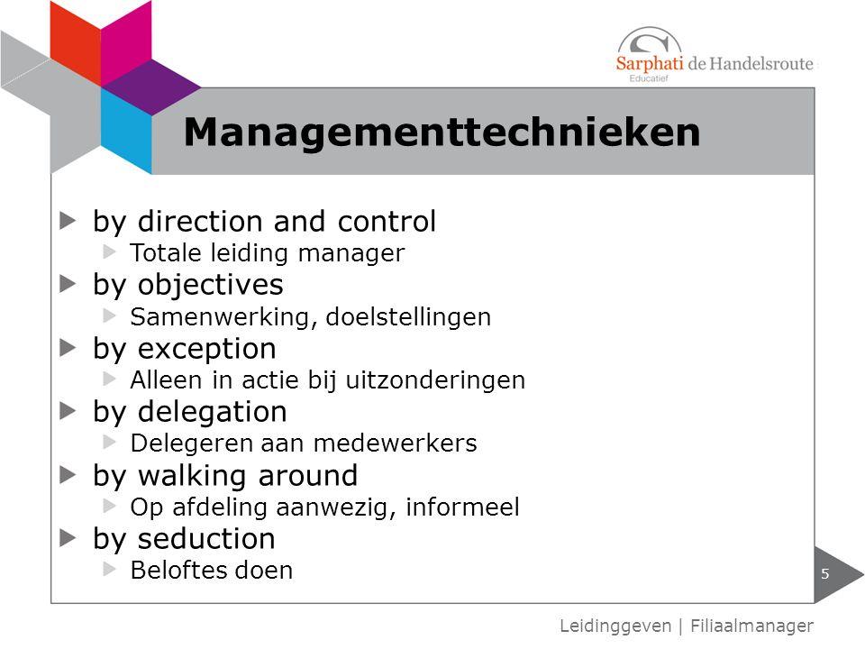 Managementtechnieken