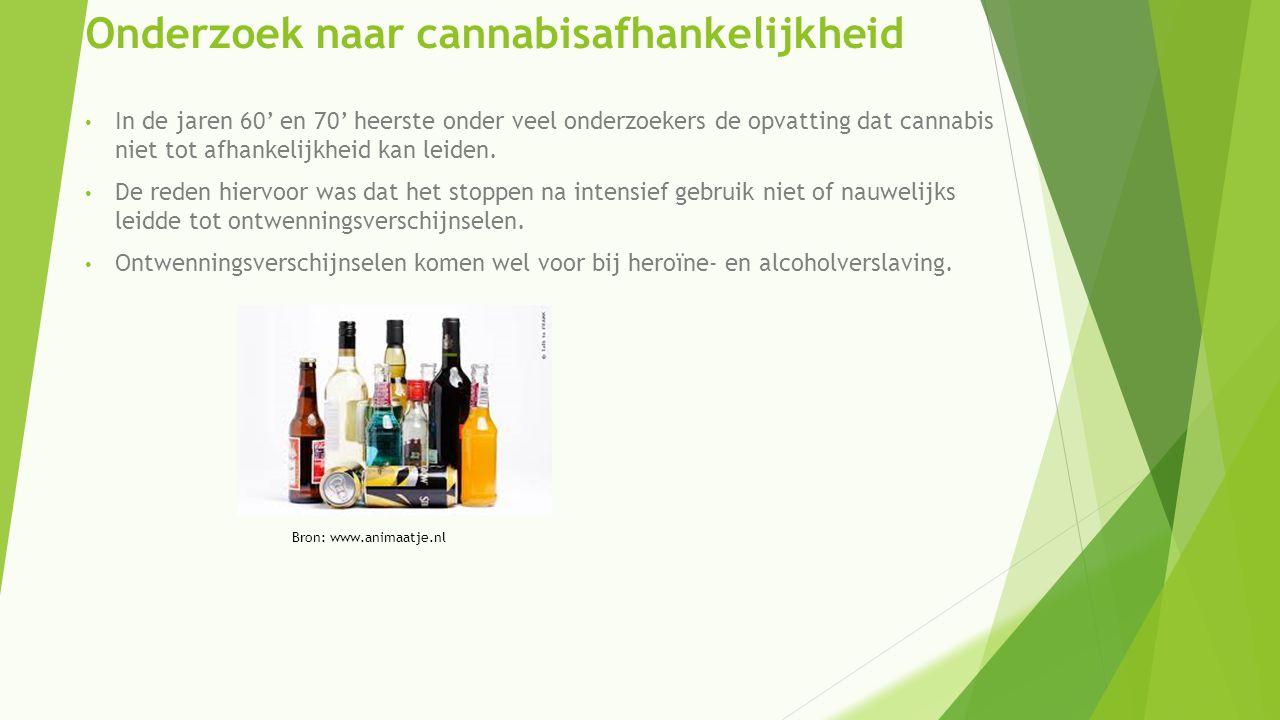 Onderzoek naar cannabisafhankelijkheid
