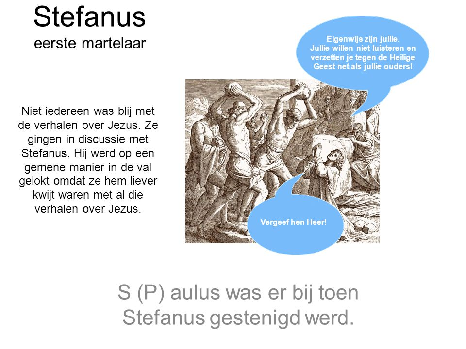 Stefanus eerste martelaar