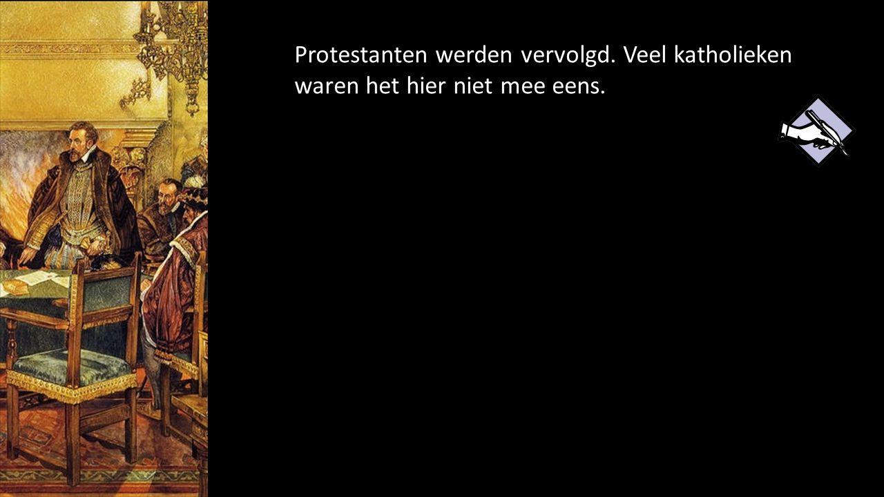 Protestanten werden vervolgd