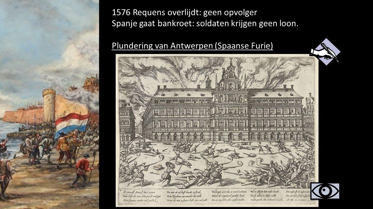 1576 Requens overlijdt: geen opvolger