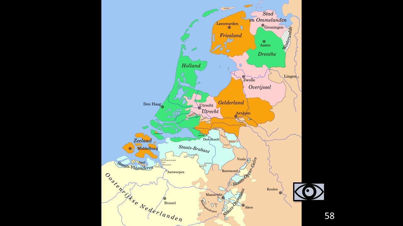 3. Gevolgen van de Tachtigjarige Oorlog
