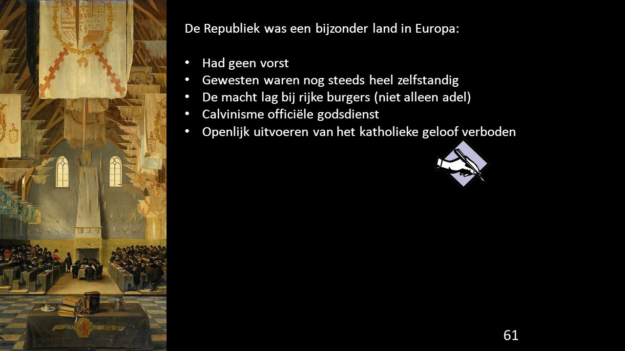 De Republiek was een bijzonder land in Europa: