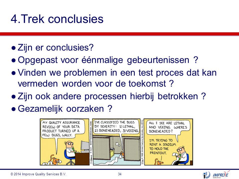 4.Trek conclusies Zijn er conclusies