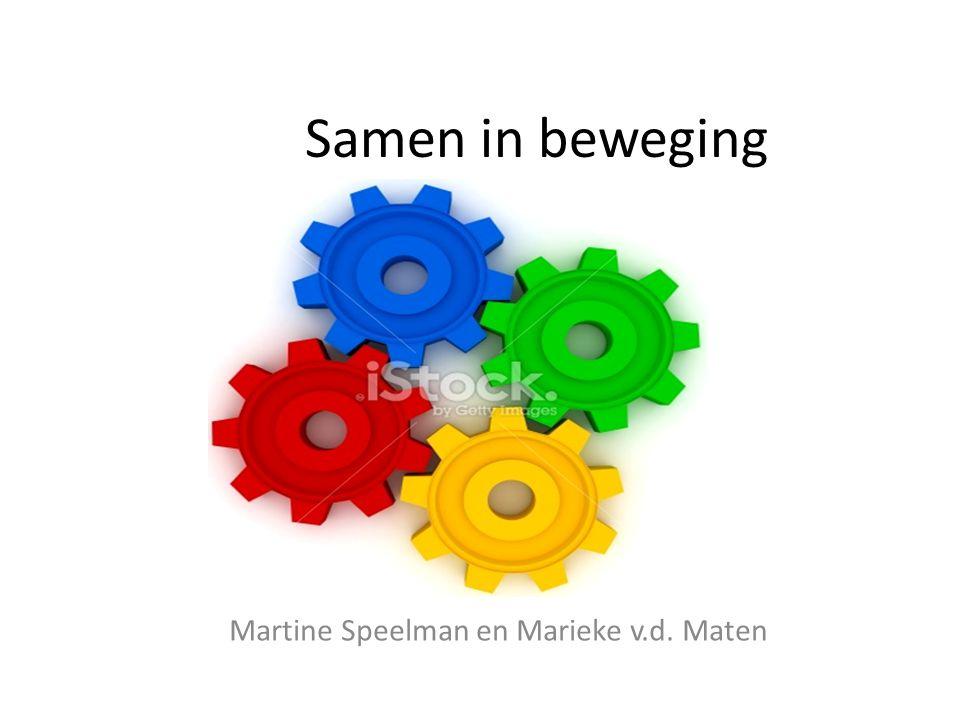 Martine Speelman en Marieke v.d. Maten