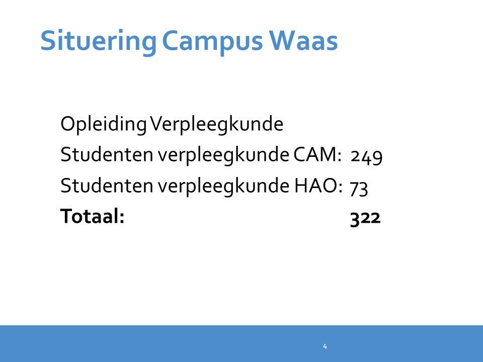 Situering Campus Waas Opleiding Verpleegkunde