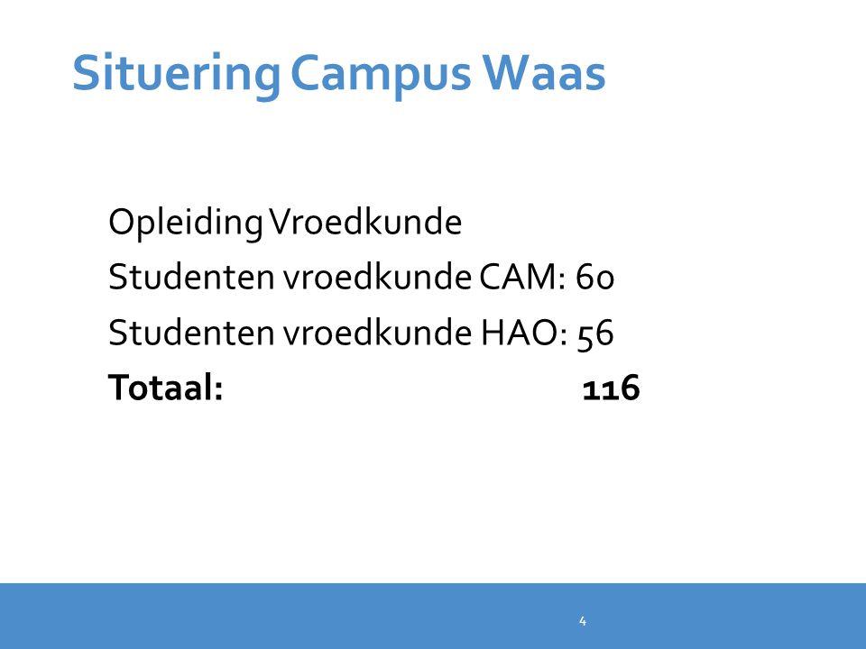 Situering Campus Waas Opleiding Vroedkunde