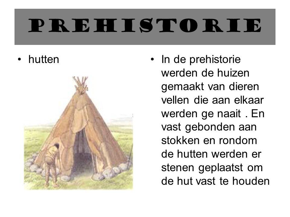 prehistorie hutten.