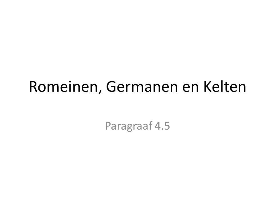 Romeinen, Germanen en Kelten
