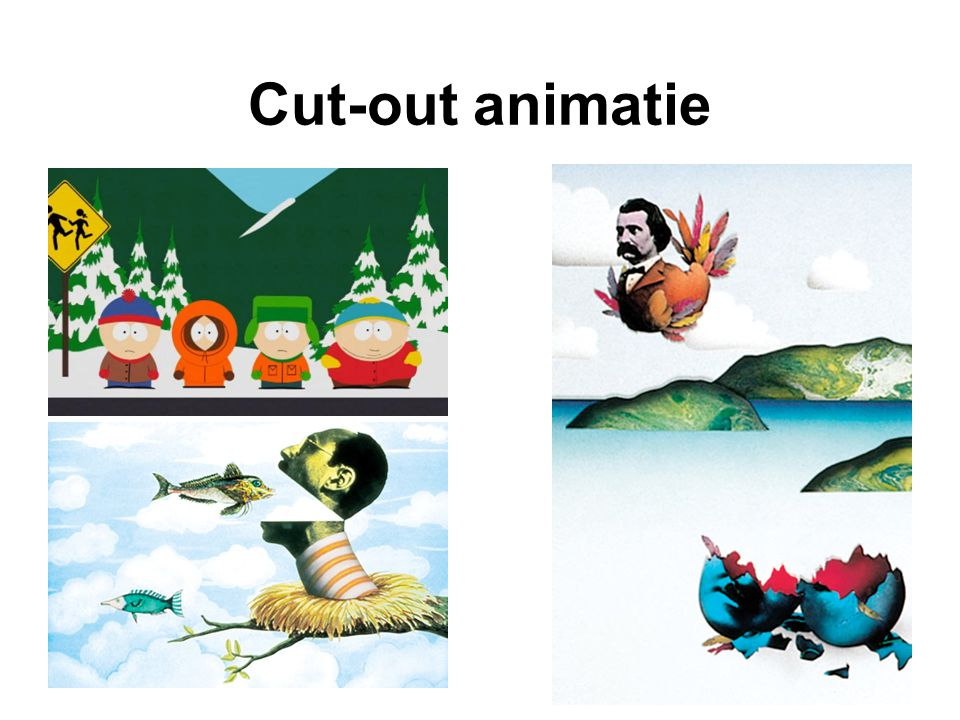 Cut-out animatie