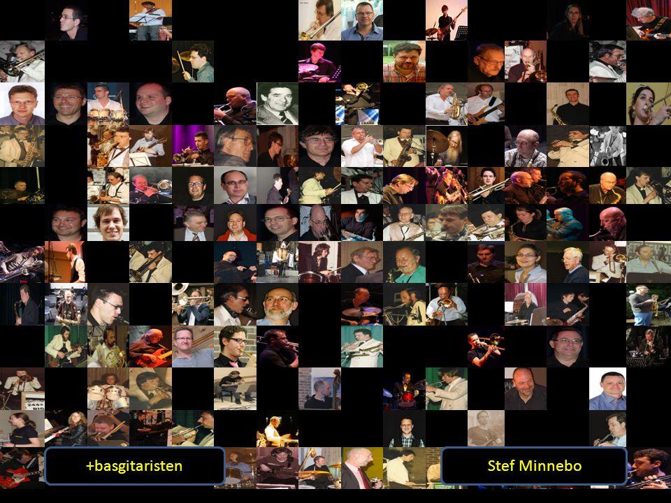+basgitaristen +gitaristen. Bert Van Daele. Klaas Decock. André Appeldoorn. Werner Willems. Stef Minnebo.