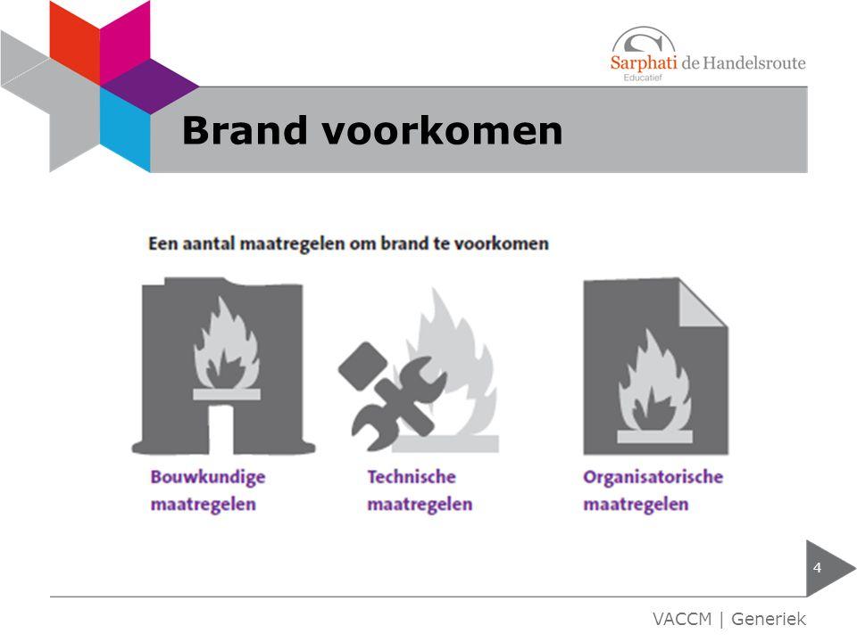 Brand voorkomen VACCM | Generiek