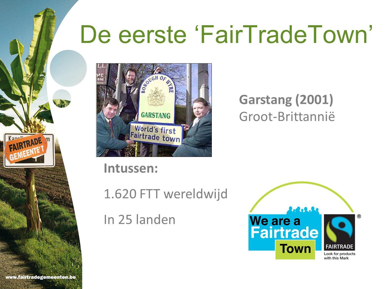 De eerste 'FairTradeTown'