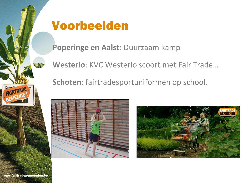 Voorbeelden Poperinge en Aalst: Duurzaam kamp