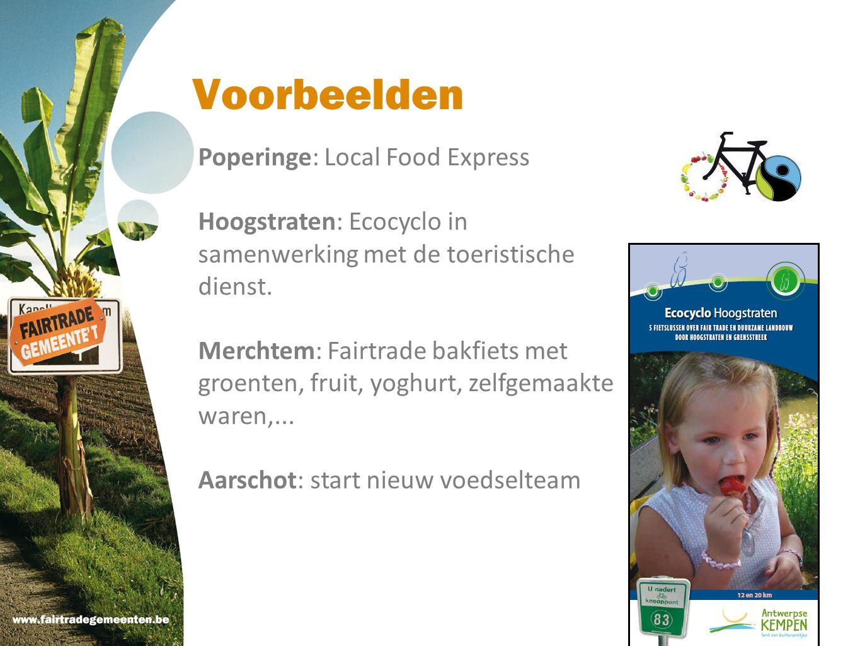 Voorbeelden Poperinge: Local Food Express