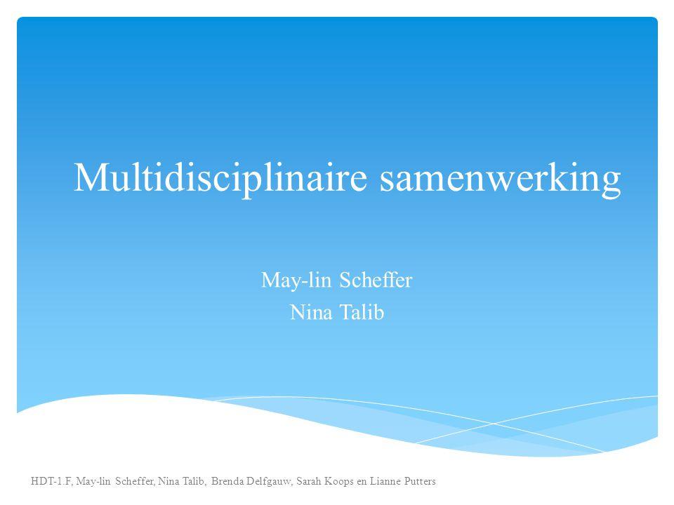 Multidisciplinaire samenwerking