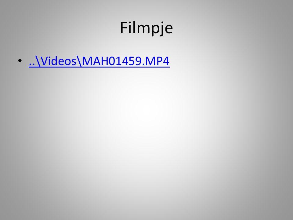 Filmpje ..\Videos\MAH01459.MP4