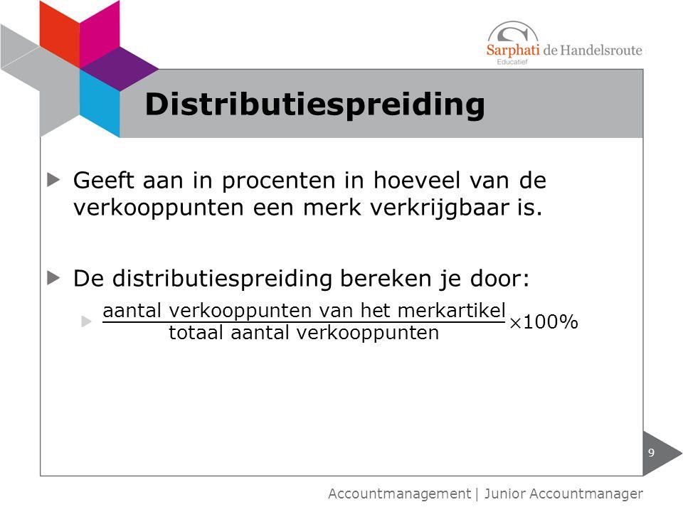 Distributiespreiding