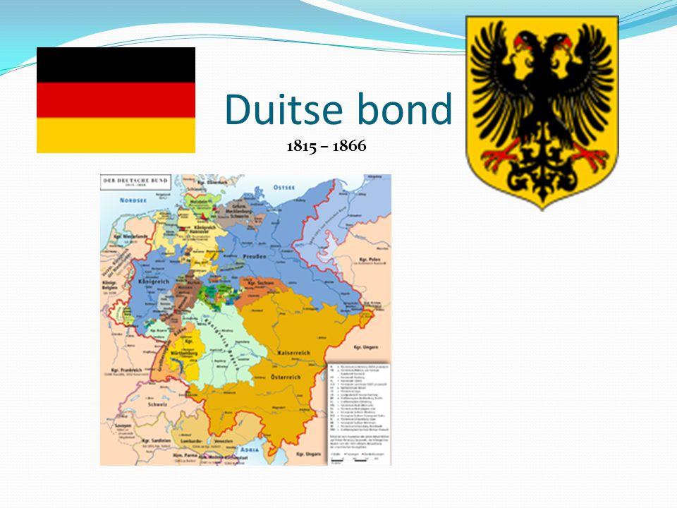 Duitse bond 1815 – 1866