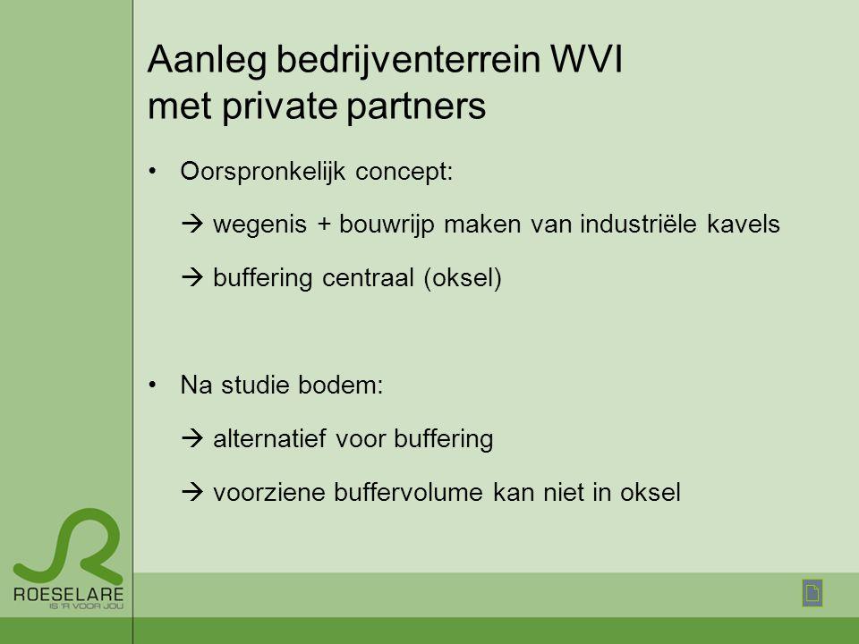 Aanleg bedrijventerrein WVI met private partners