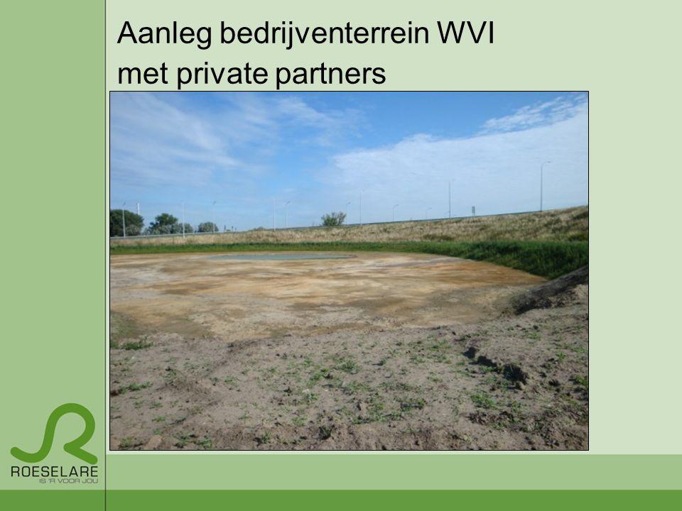 Aanleg bedrijventerrein WVI
