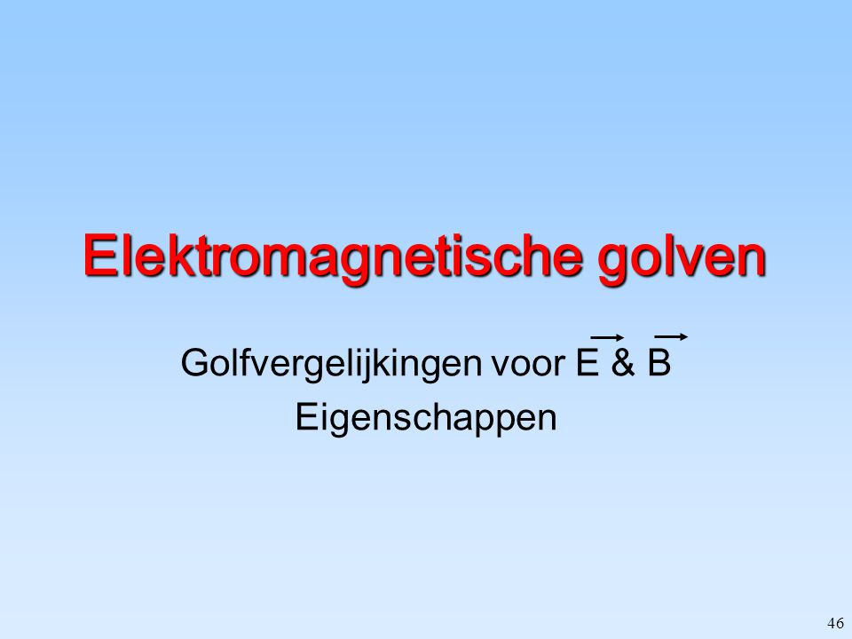 Elektromagnetische golven