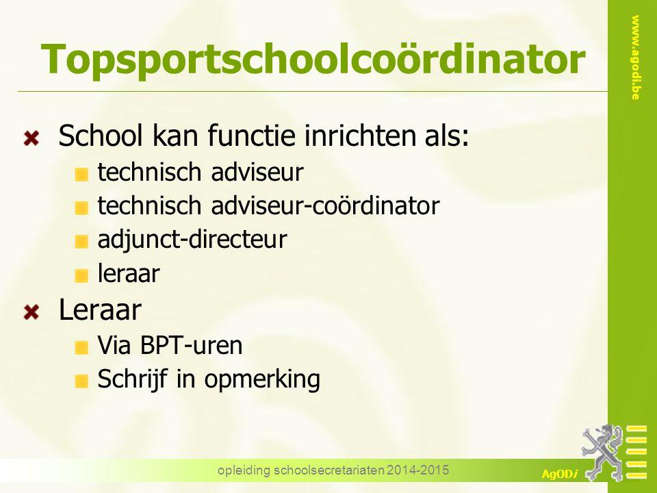 Topsportschoolcoördinator