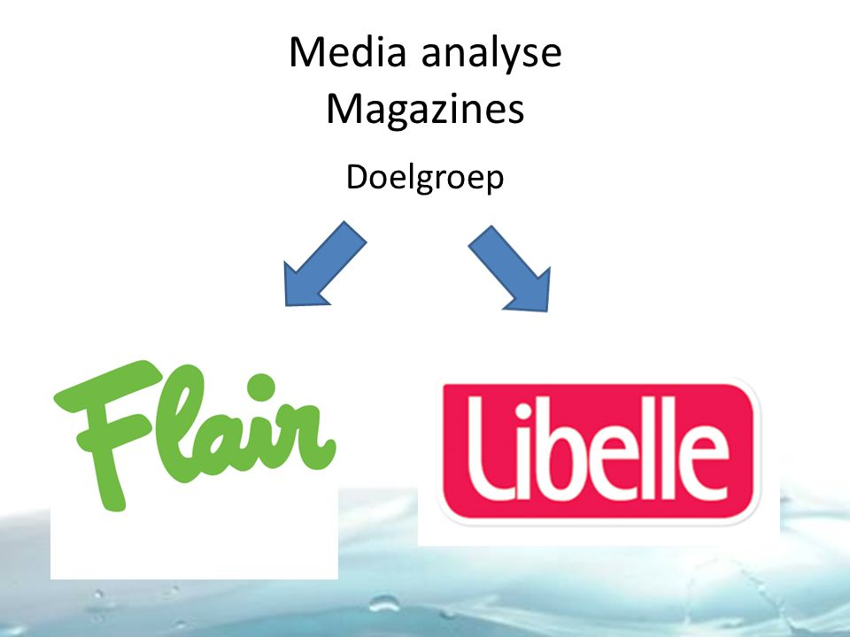 Media analyse Magazines