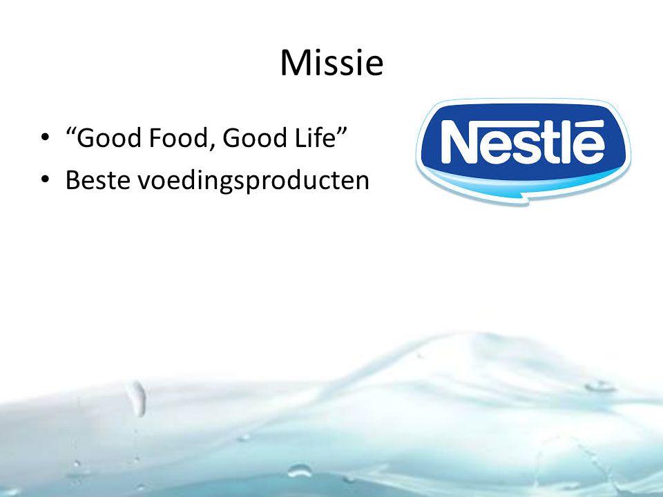 Missie Good Food, Good Life Beste voedingsproducten