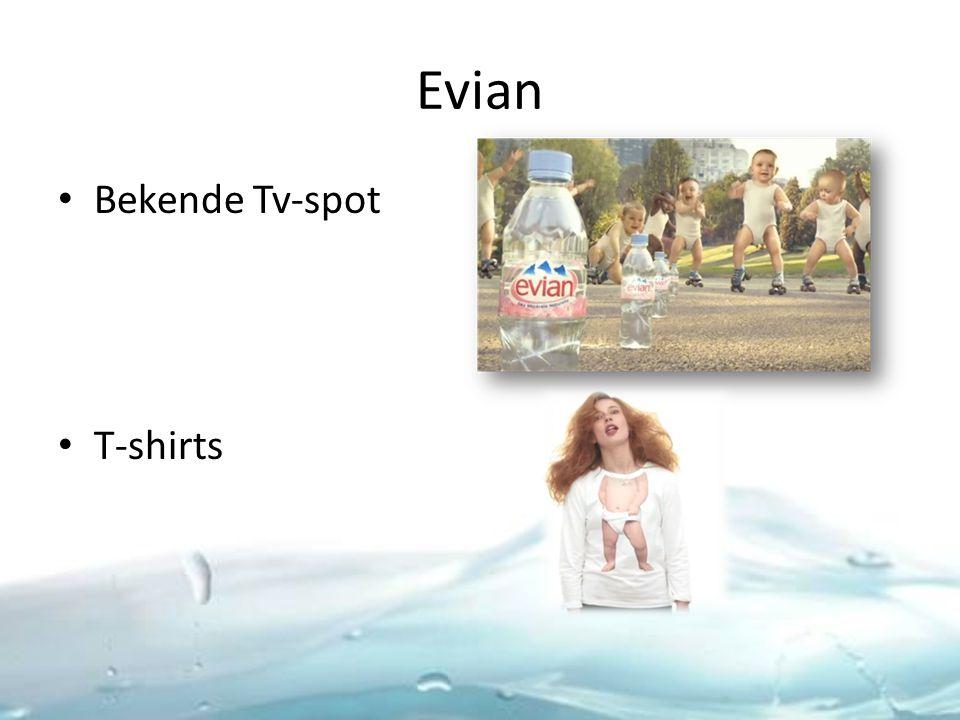 Evian Bekende Tv-spot T-shirts
