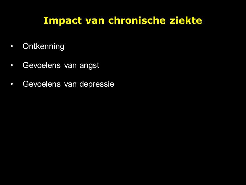 Impact van chronische ziekte