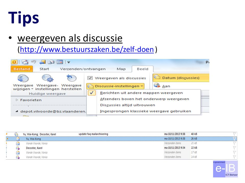 Tips weergeven als discussie (http://www.bestuurszaken.be/zelf-doen )