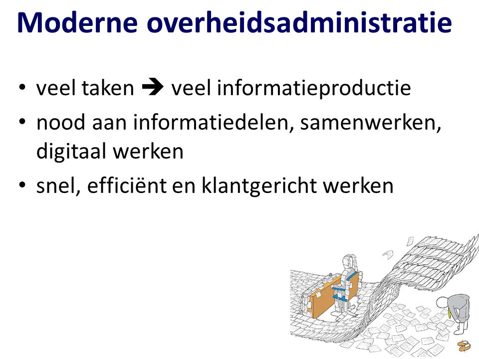 Moderne overheidsadministratie