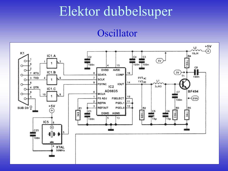 Elektor dubbelsuper Oscillator