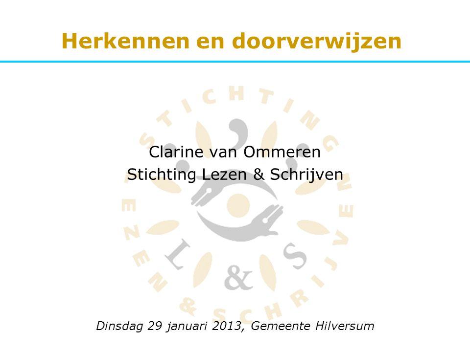 Clarine van Ommeren Stichting Lezen & Schrijven