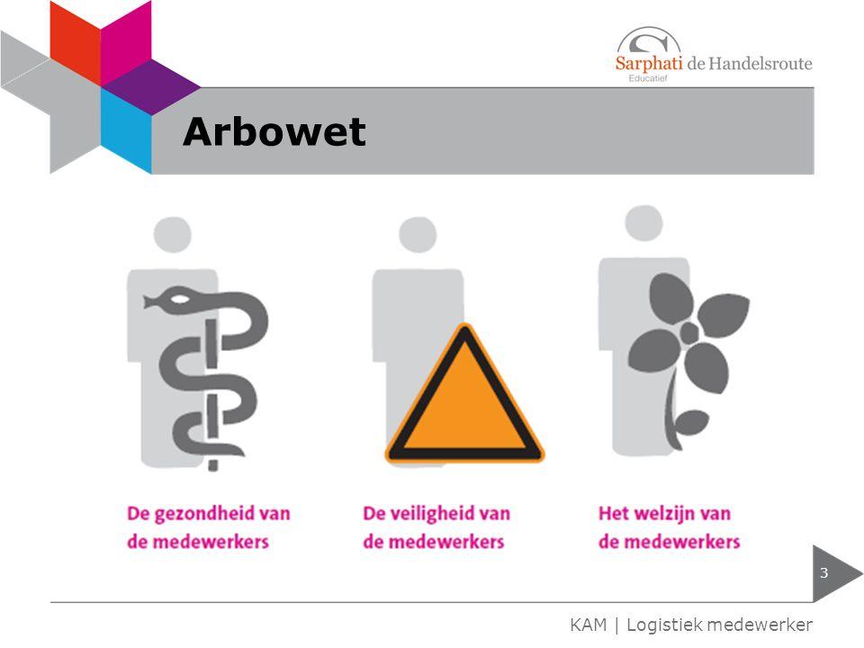 Arbowet KAM | Logistiek medewerker