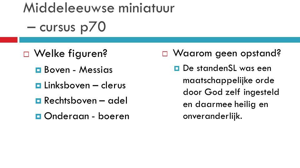 Middeleeuwse miniatuur – cursus p70