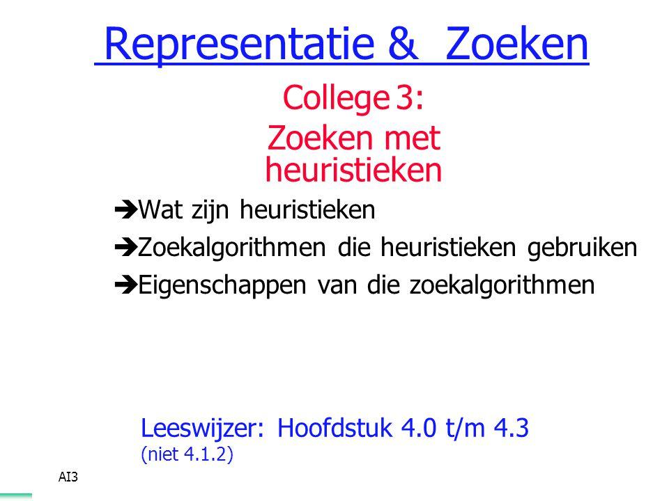 Representatie & Zoeken