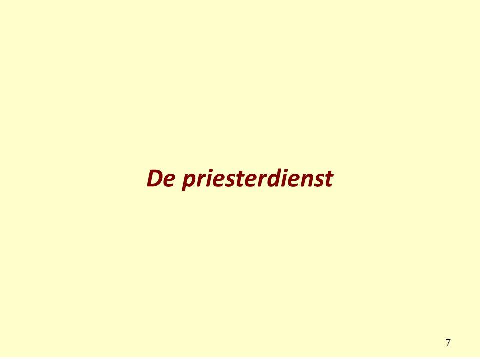 De priesterdienst