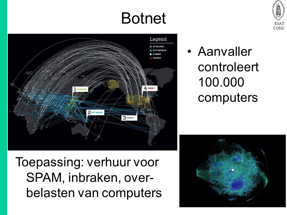 Botnet Aanvaller controleert 100.000 computers