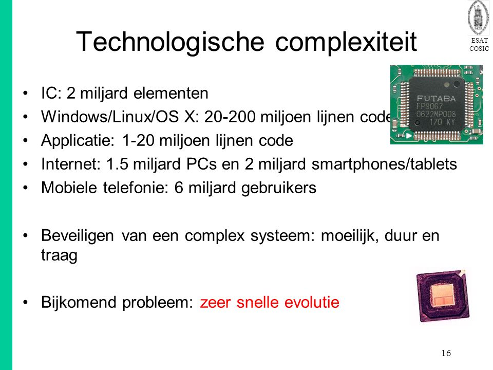 Technologische complexiteit