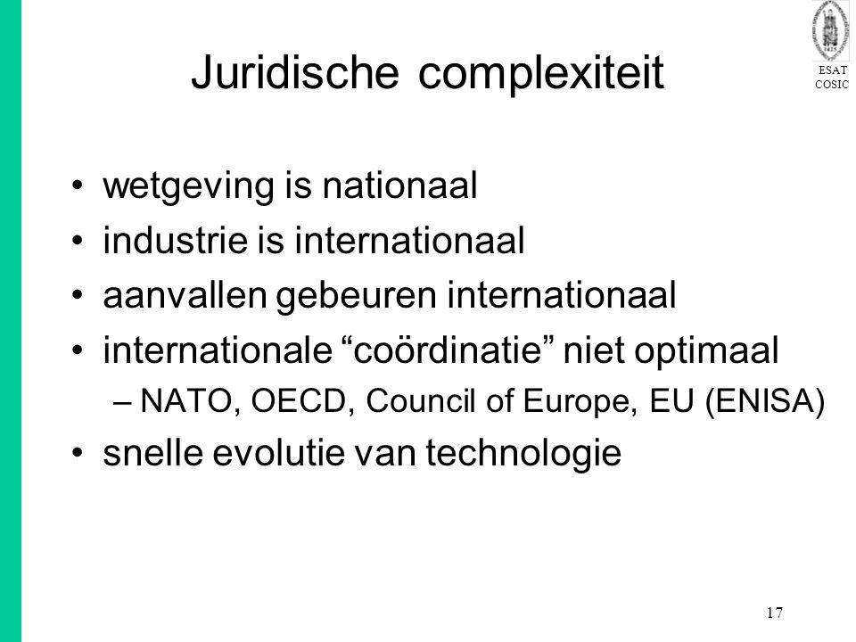 Juridische complexiteit