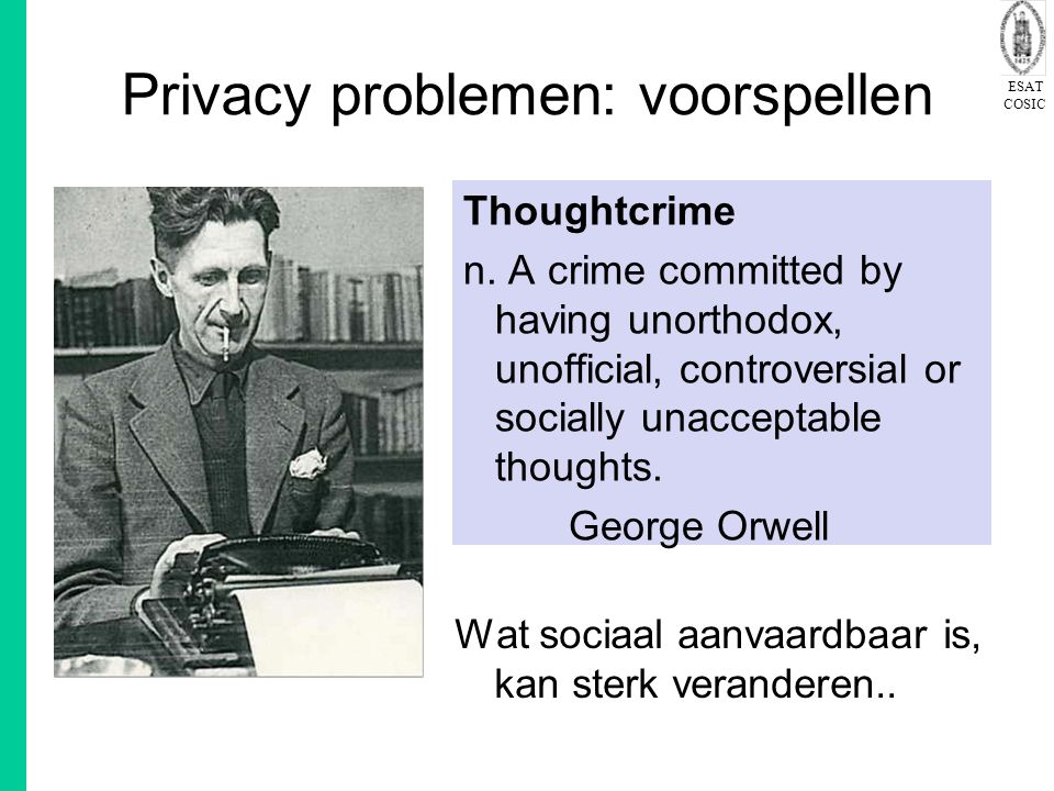Privacy problemen: voorspellen