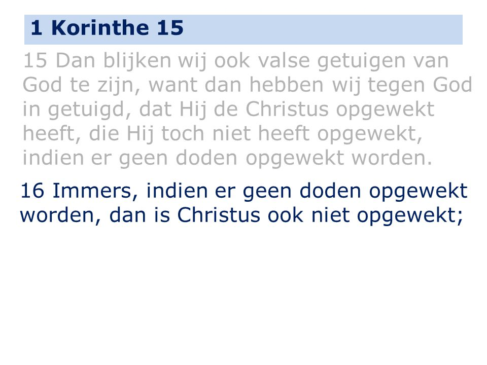 1 Korinthe 15
