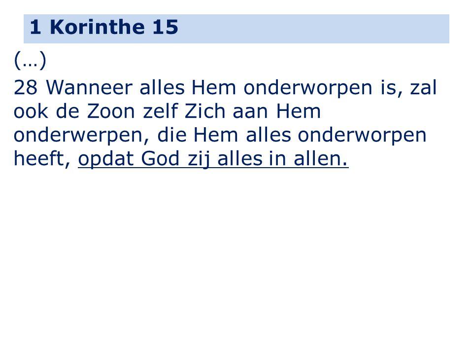 1 Korinthe 15 (…)