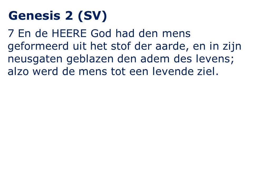 Genesis 2 (SV)