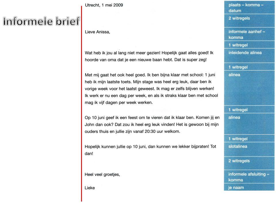 Informele brief