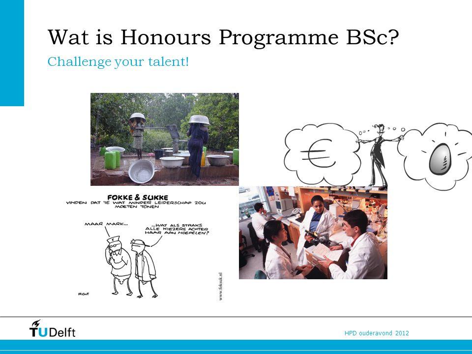 Wat is Honours Programme BSc